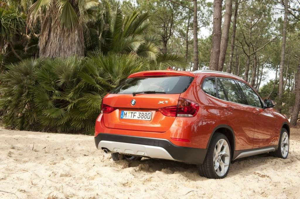 BMW X1 restyling - posteriore (9)