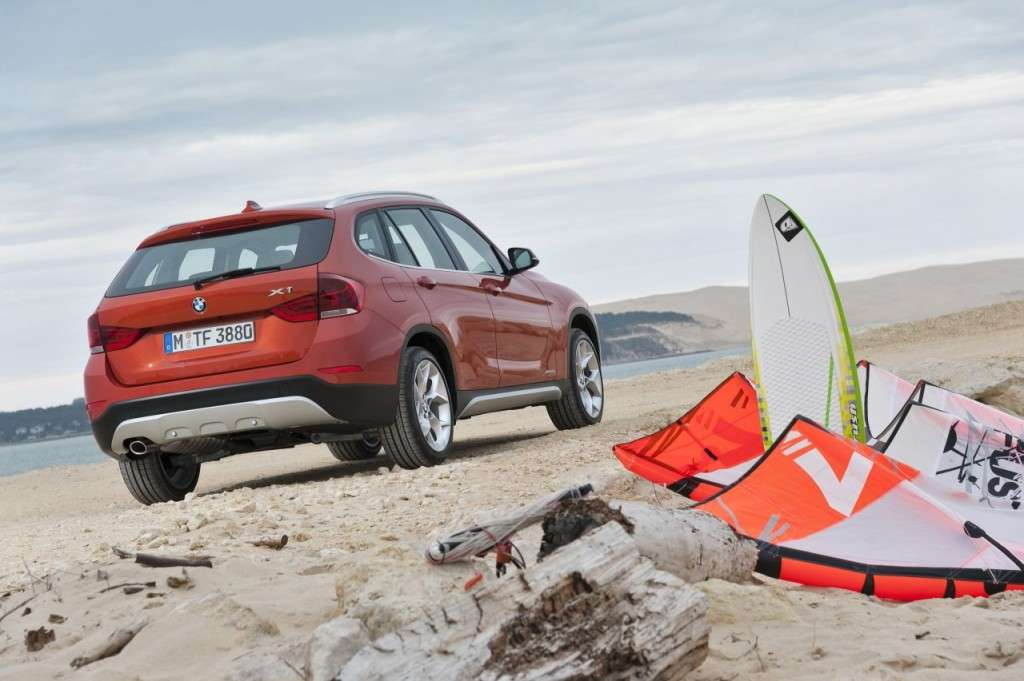 BMW X1 restyling - posteriore (10)