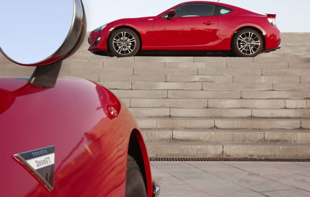 Toyota GT86 - laterale rossa