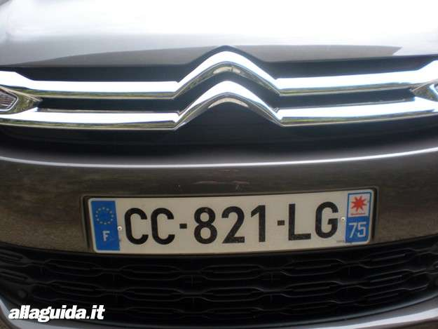 Citroen C4 Aircross, mascherina