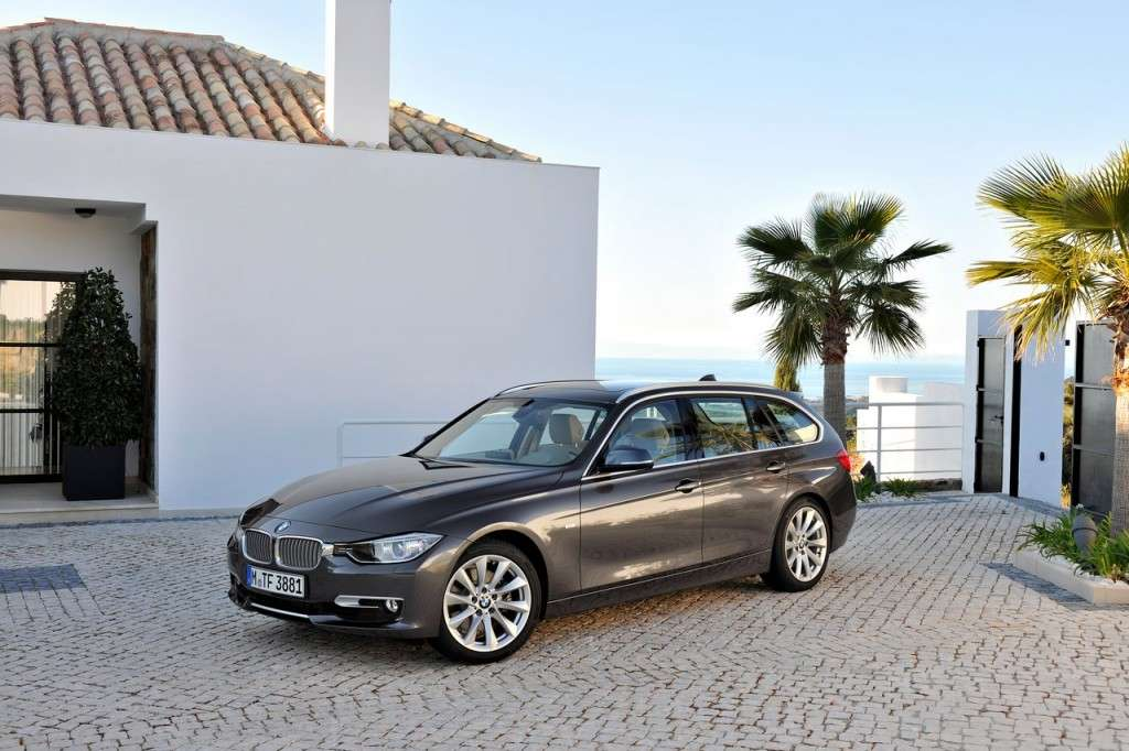 BMW Serie 3 Touring F31 - laterale
