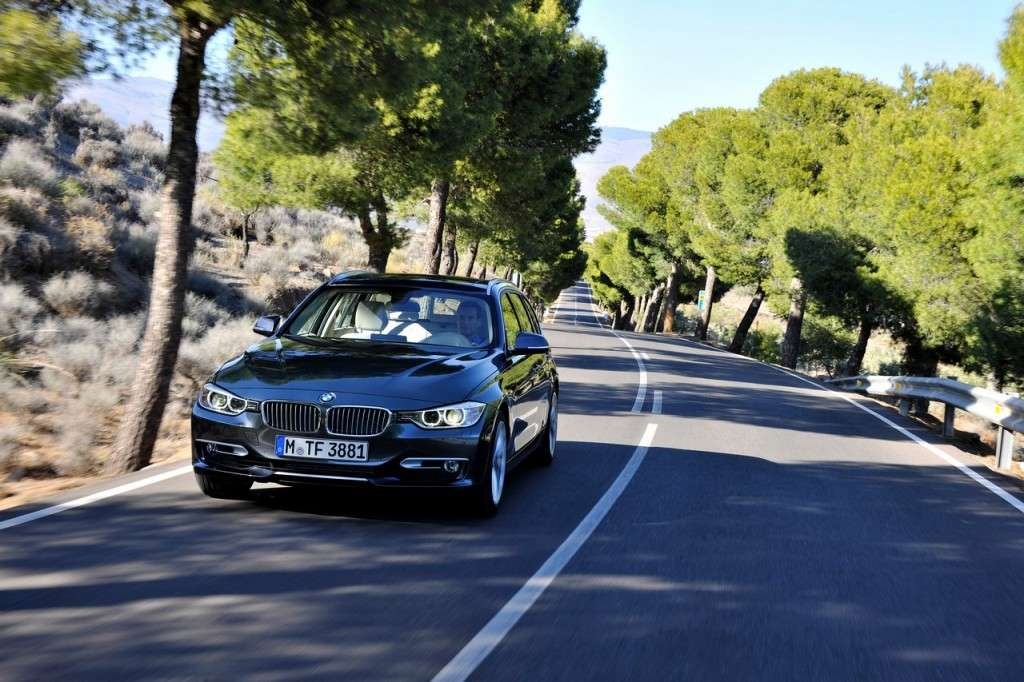 BMW Serie 3 Touring F31 - frontale