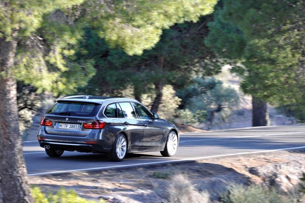 BMW Serie 3 Touring F31 - posteriore