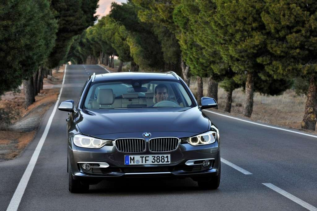 BMW Serie 3 Touring F31 - frontale (2)