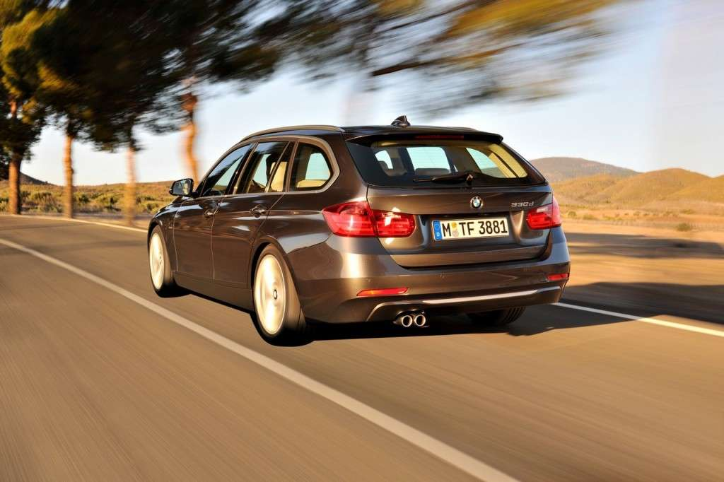 BMW Serie 3 Touring F31 - posteriore (7)