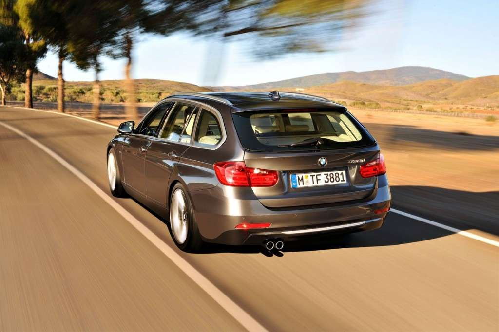 BMW Serie 3 Touring F31 - posteriore (8)