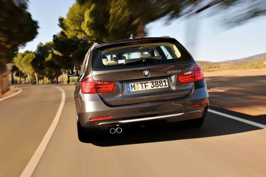 BMW Serie 3 Touring F31 - posteriore (9)