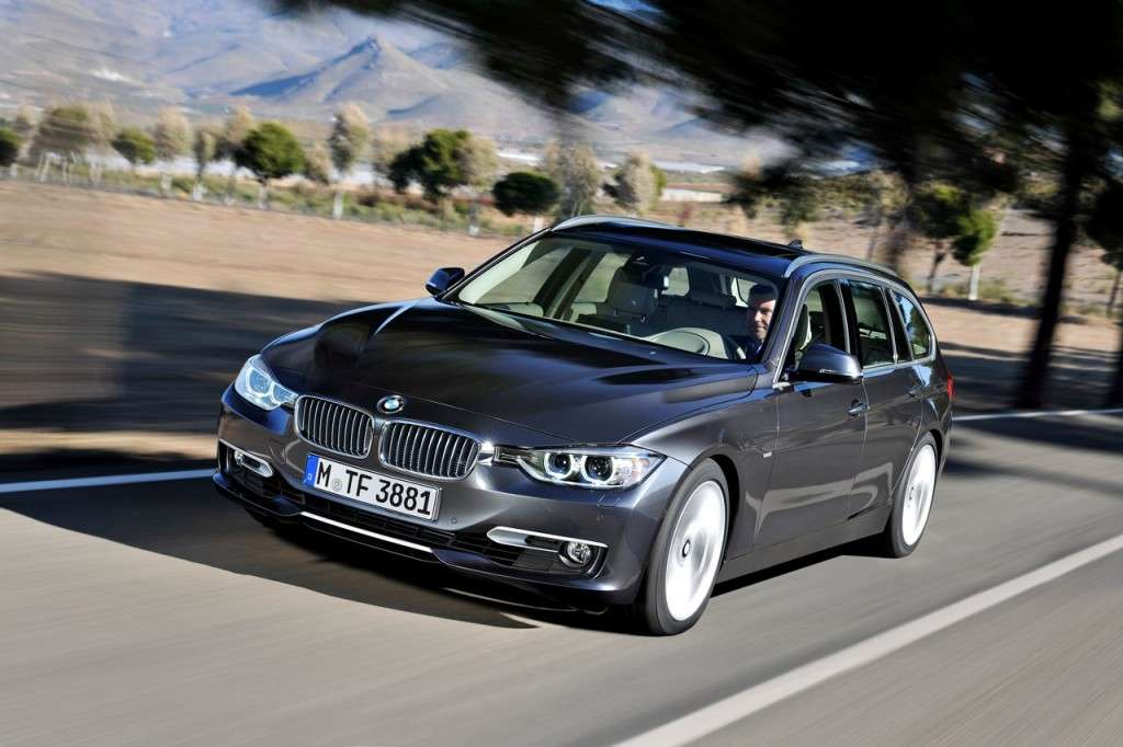 BMW Serie 3 Touring F31 - frontale (3)