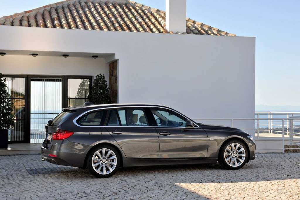 BMW Serie 3 Touring F31 - laterale (2)