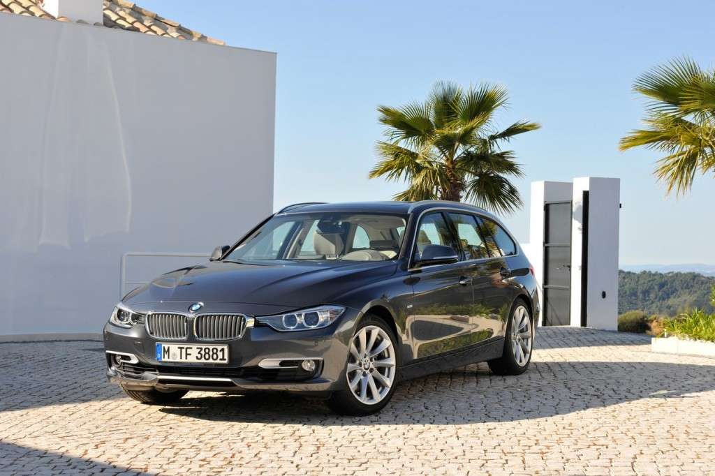 BMW Serie 3 Touring F31 - frontale (4)