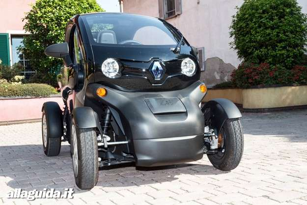 Renault Twizy: visione frontale