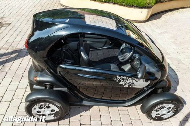 Renault Twizy: visione tetto panoramico