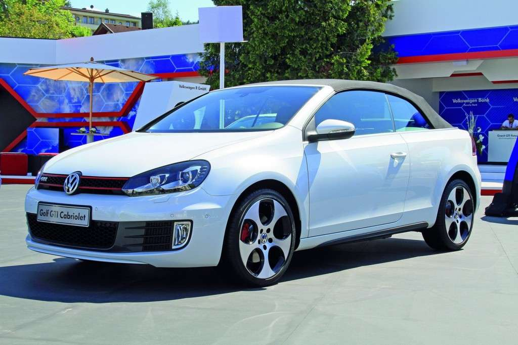 Volkswagen Golf GTI Cabriolet al Worthersee frontale