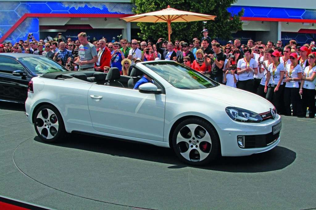 Volkswagen Golf GTI Cabriolet al Worthersee laterale