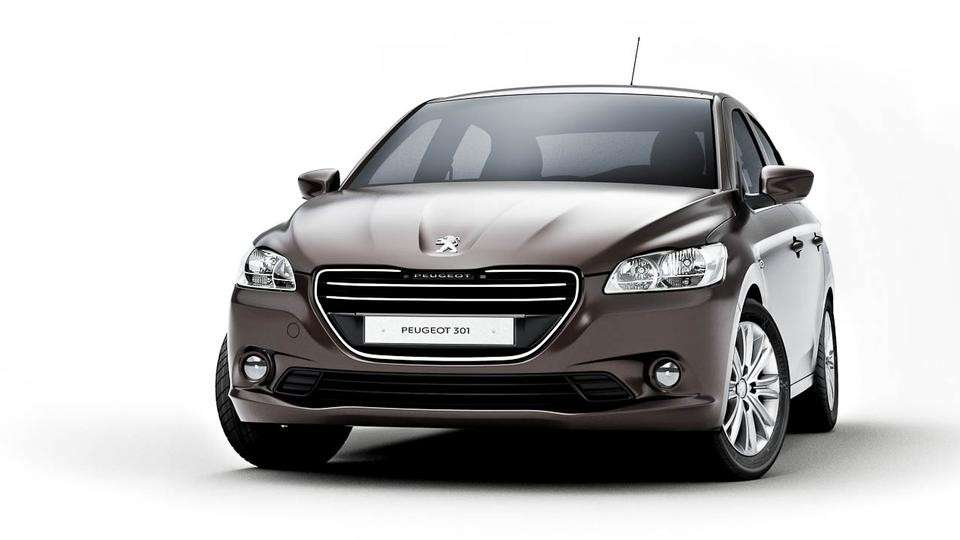 Peugeot 301, frontale