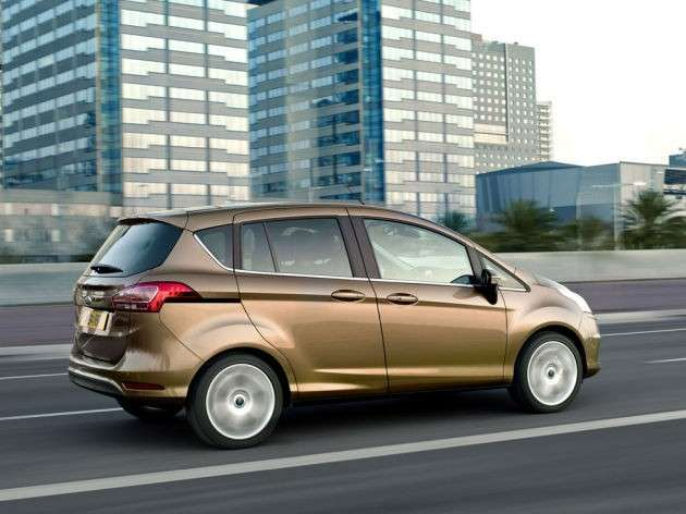 Ford B-Max - laterale