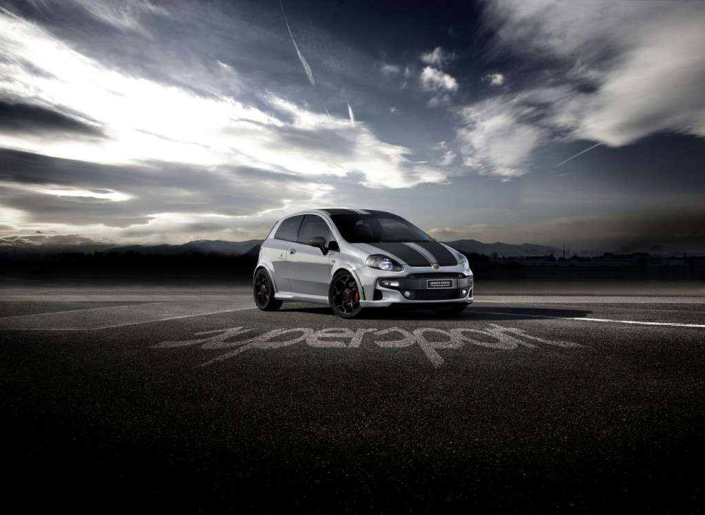 Abarth Punto Supersport - frontale