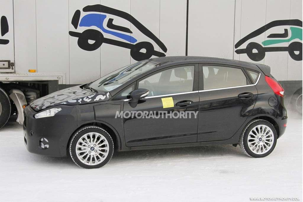 Ford Fiesta 2013 laterale