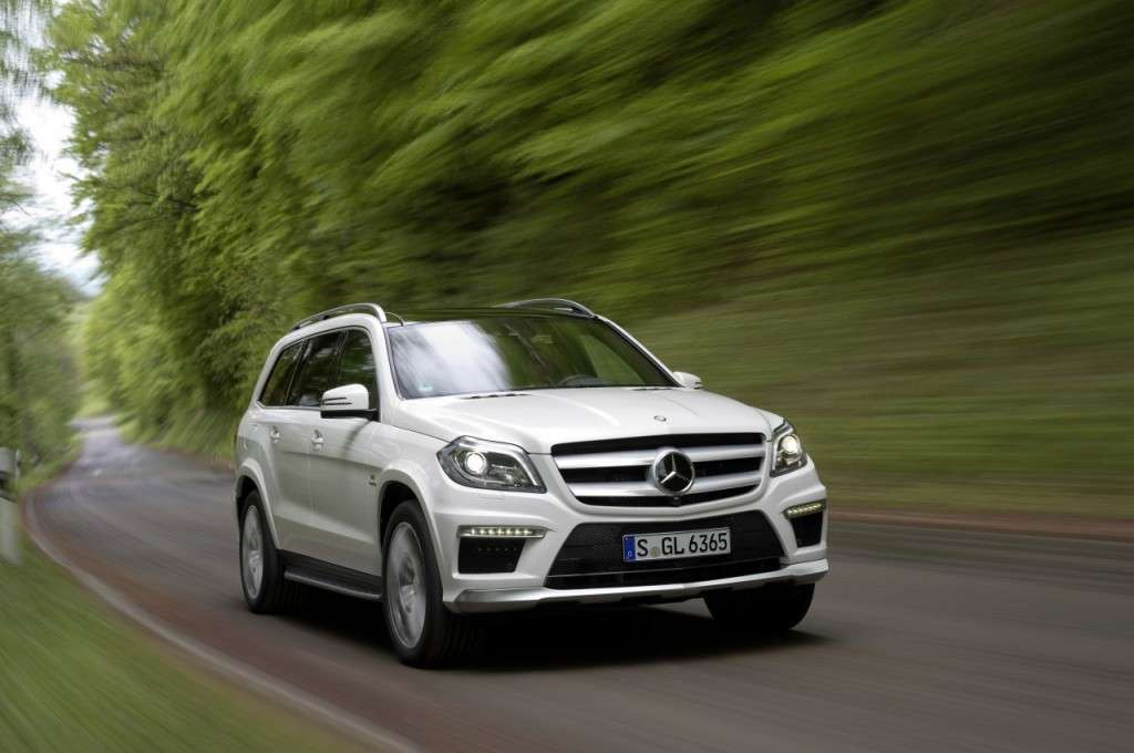 Mercedes GL63 AMG - frontale