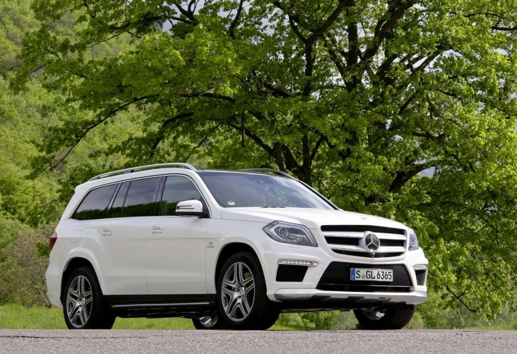 Mercedes GL63 AMG - laterale anteriore