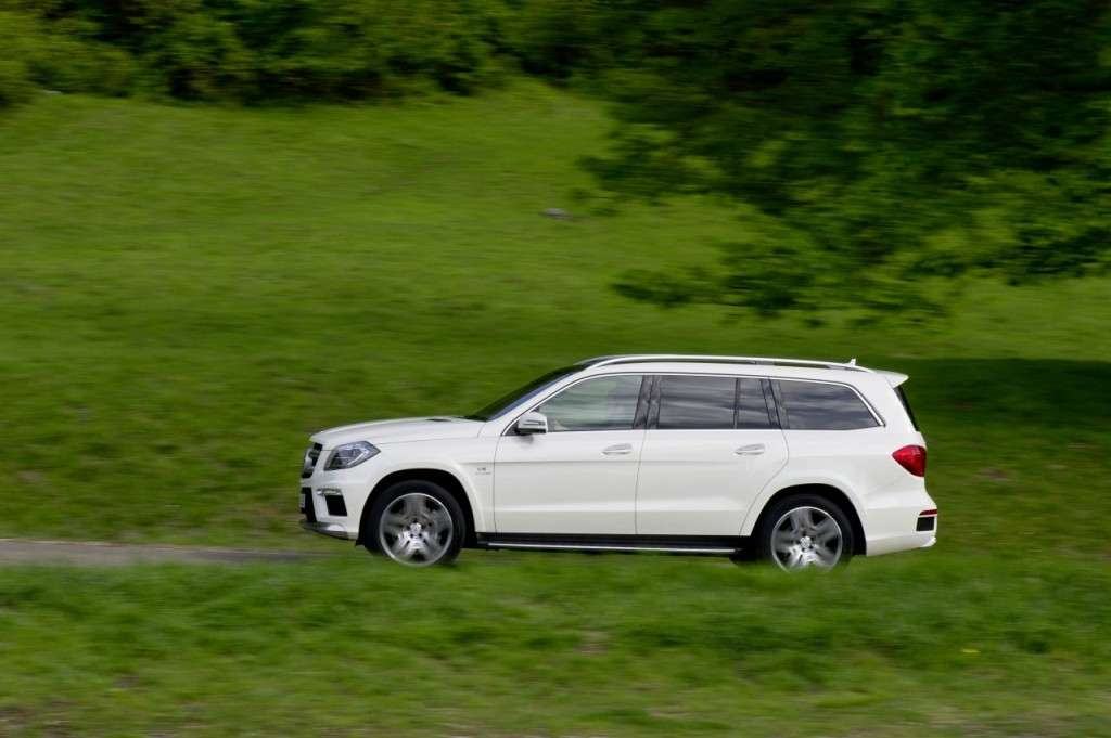 Mercedes GL63 AMG - laterale