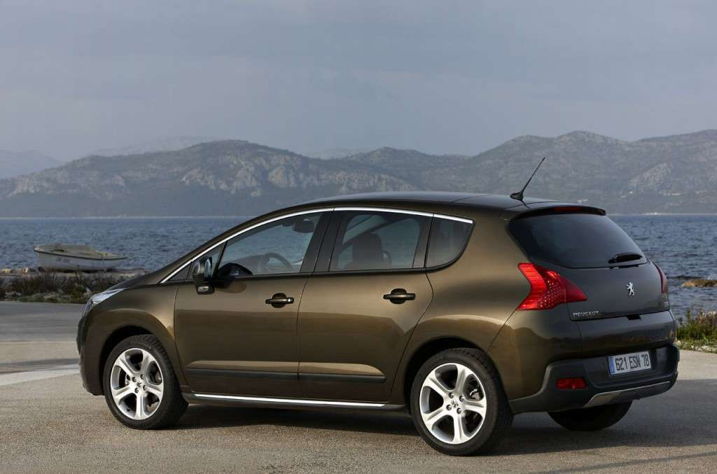 Peugeot 3008 Style posteriore