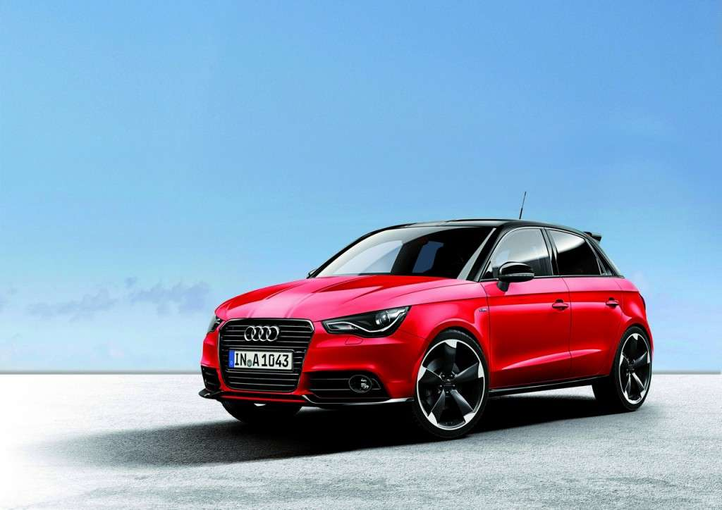 Audi A1 Amplified frontale