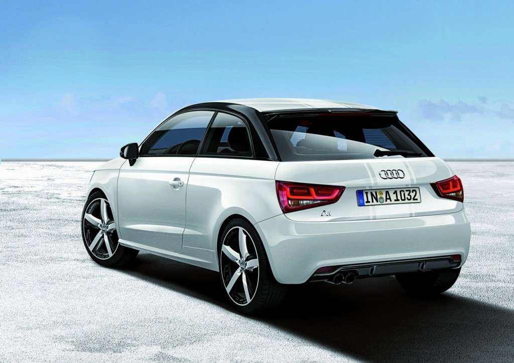 Audi A1 Amplified posteriore