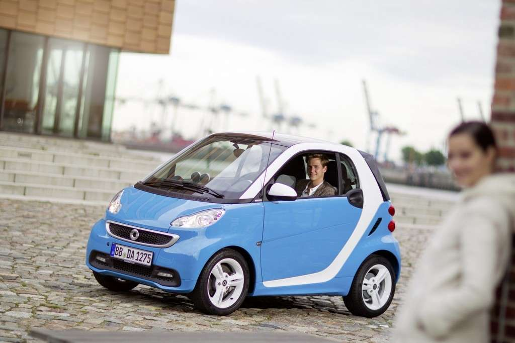 Smart Fortwo Edition Iceshine - laterale anteriore