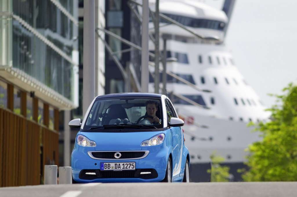 Smart Fortwo Edition Iceshine - frontale (2)