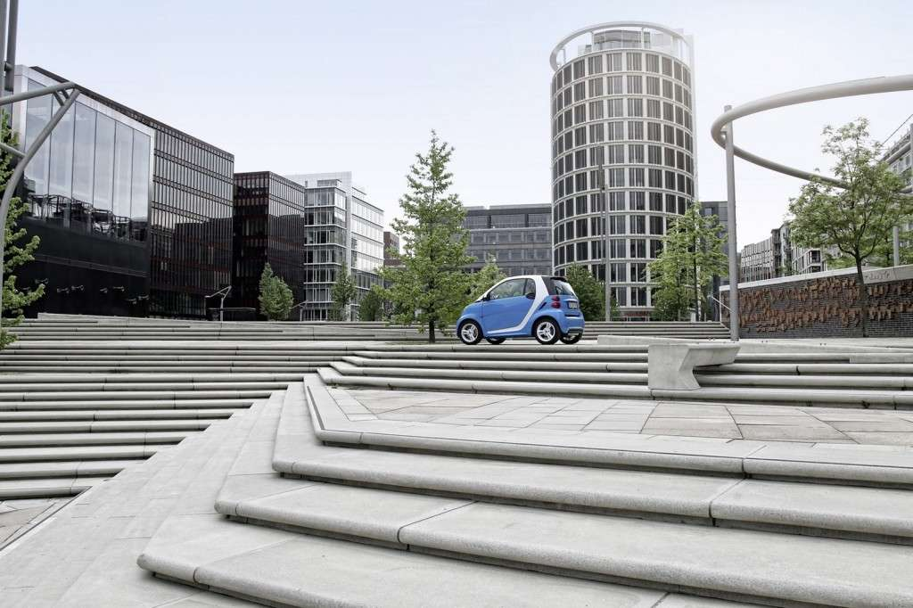 Smart Fortwo Edition Iceshine - laterale