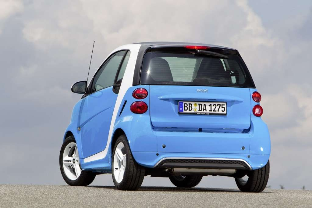 Smart Fortwo Edition Iceshine - posteriore