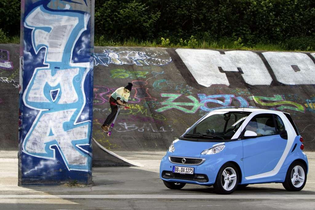 Smart Fortwo Edition Iceshine - laterale anteriore (3)
