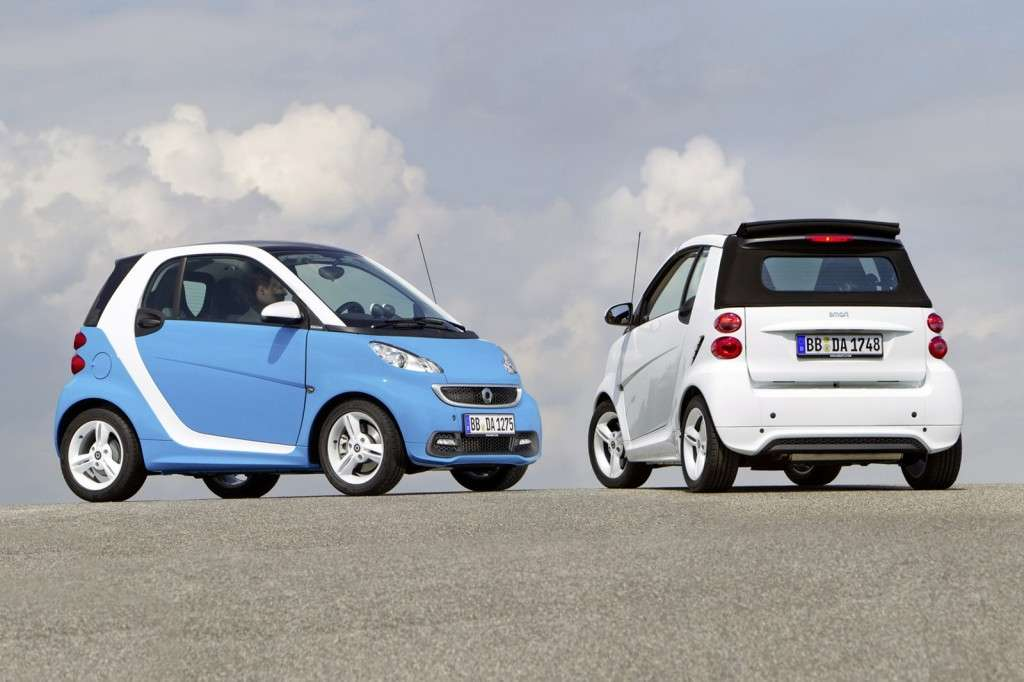 Smart Fortwo Edition Iceshine - coppia