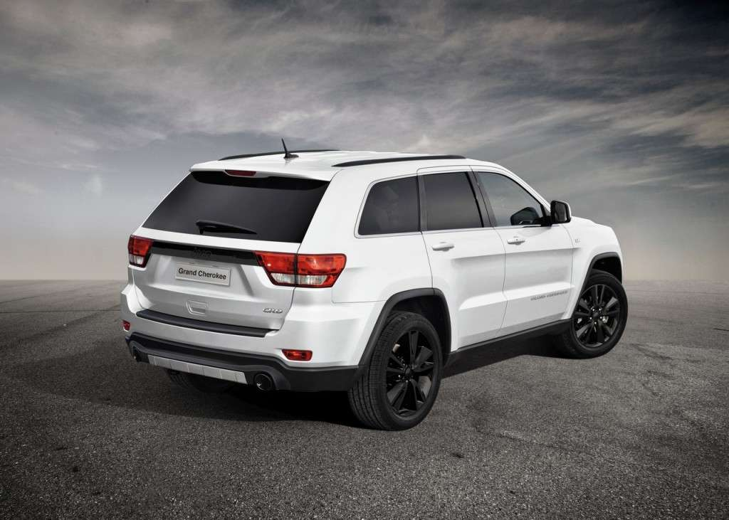 Jeep Grand Cherokee S Limited posteriore
