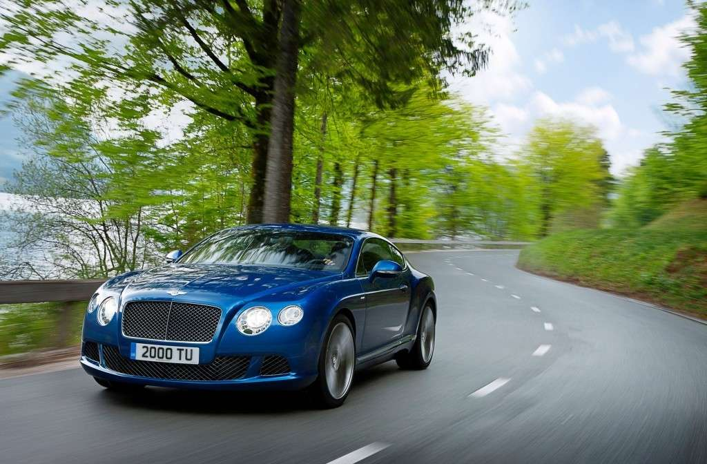 Bentley Continental GT Speed, foto ufficiali