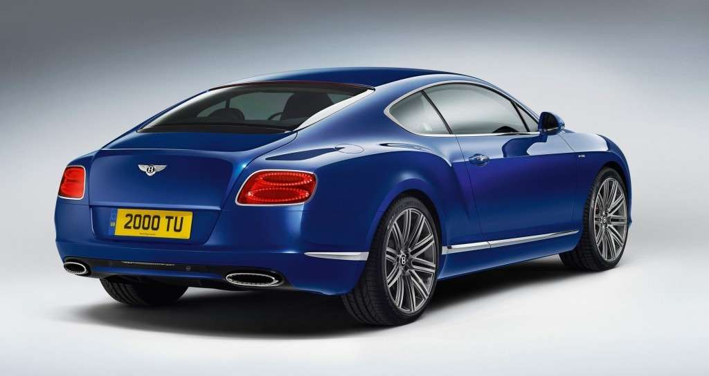 Bentley Continental GT Speed - posteriore