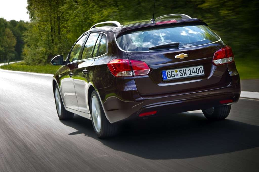 Chevrolet Cruze Station Wagon coda