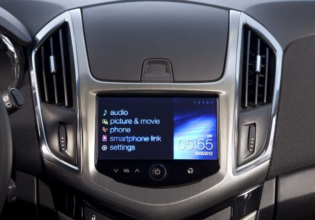 Chevrolet Cruze Station Wagon console centrale
