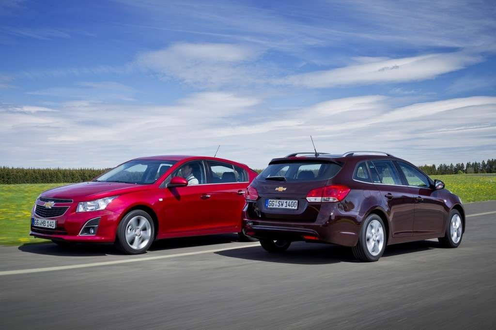 Chevrolet Cruze Station Wagon e Hatchback