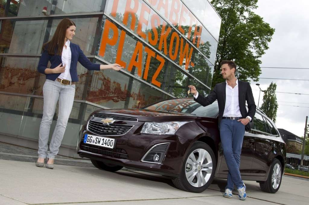 Chevrolet Cruze Station Wagon frontale (3)