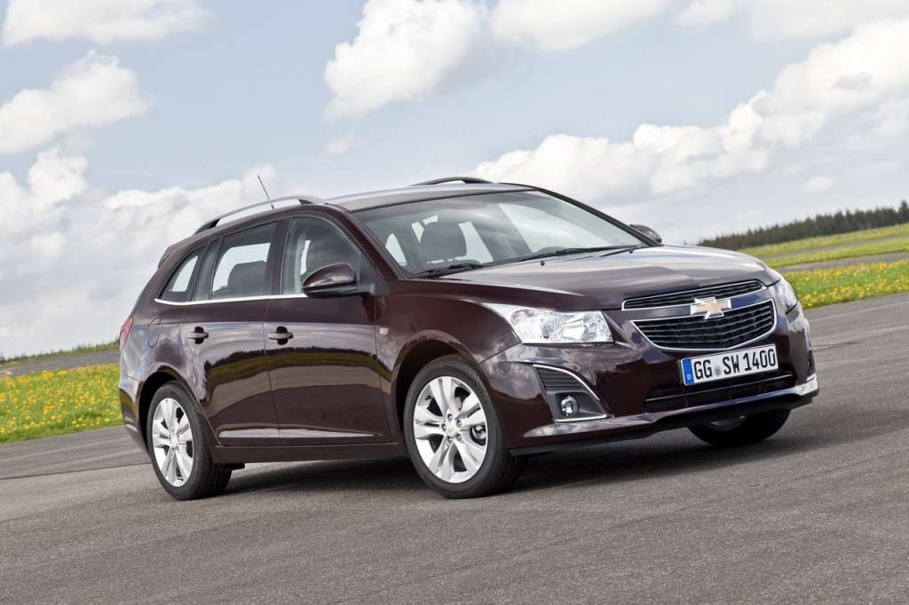 Chevrolet Cruze Station Wagon frontale (7)