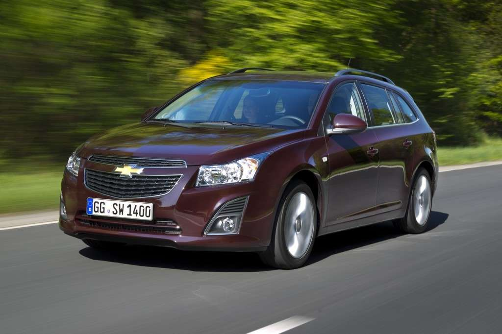 Chevrolet Cruze Station Wagon frontale