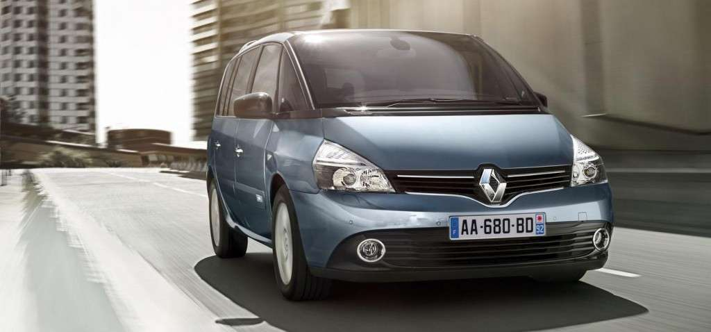 Renault Espace 2013, frontale 2