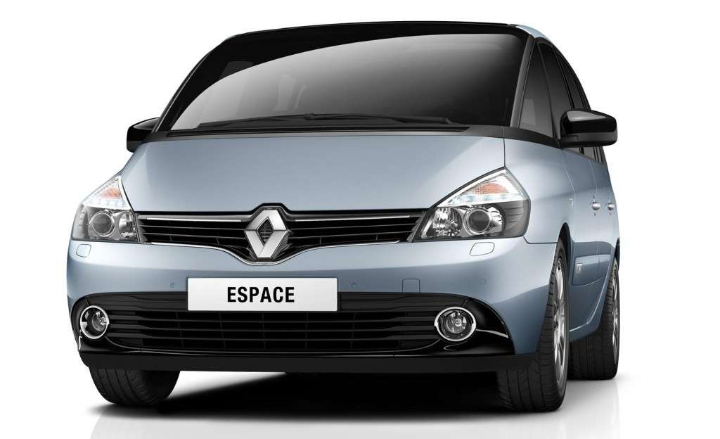 Renault Espace 2013, frontale 3