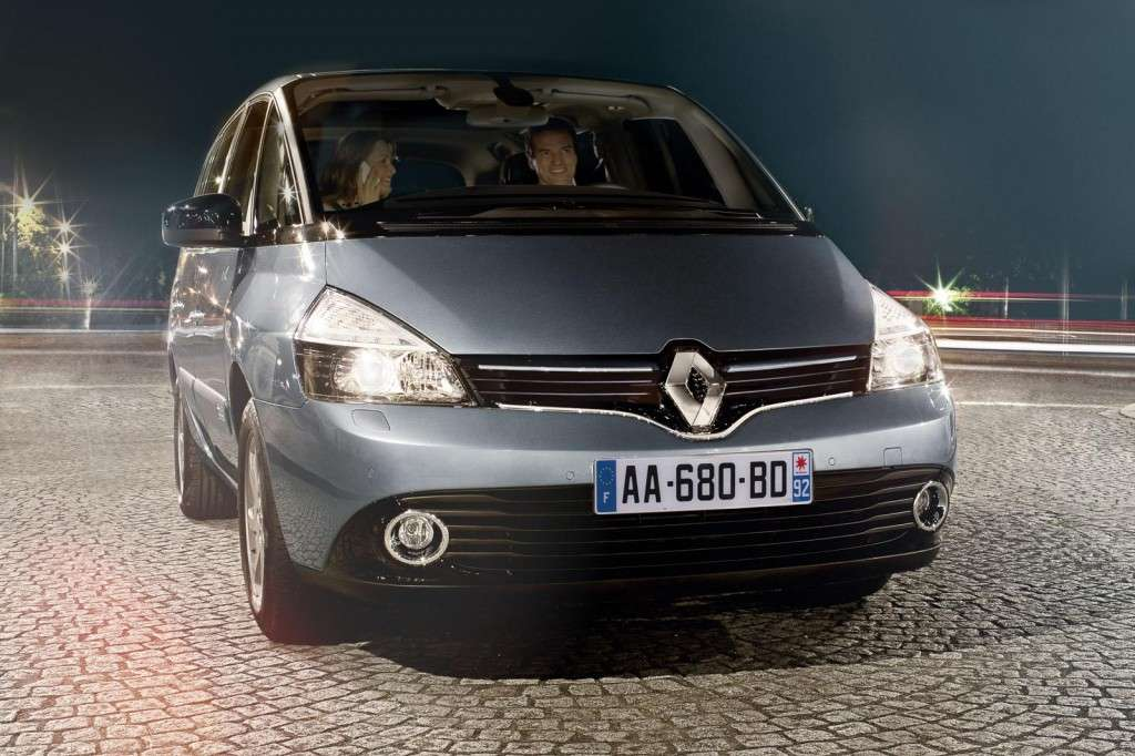 Renault Espace 2013, frontale