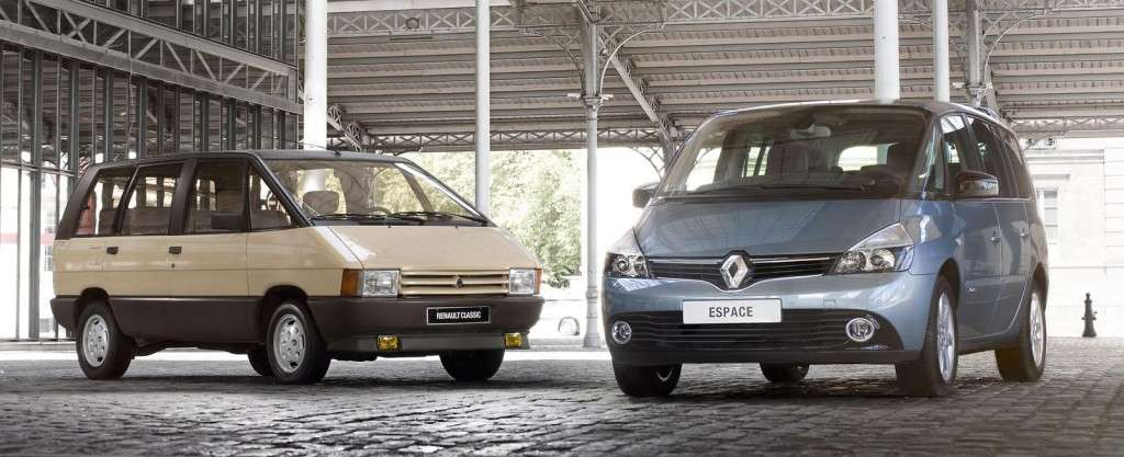 Renault Espace 2013, restyling