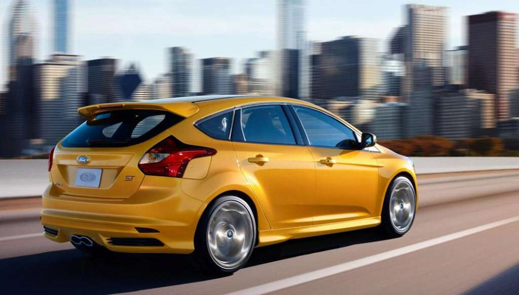 Ford Focus ST - posteriore hatchback
