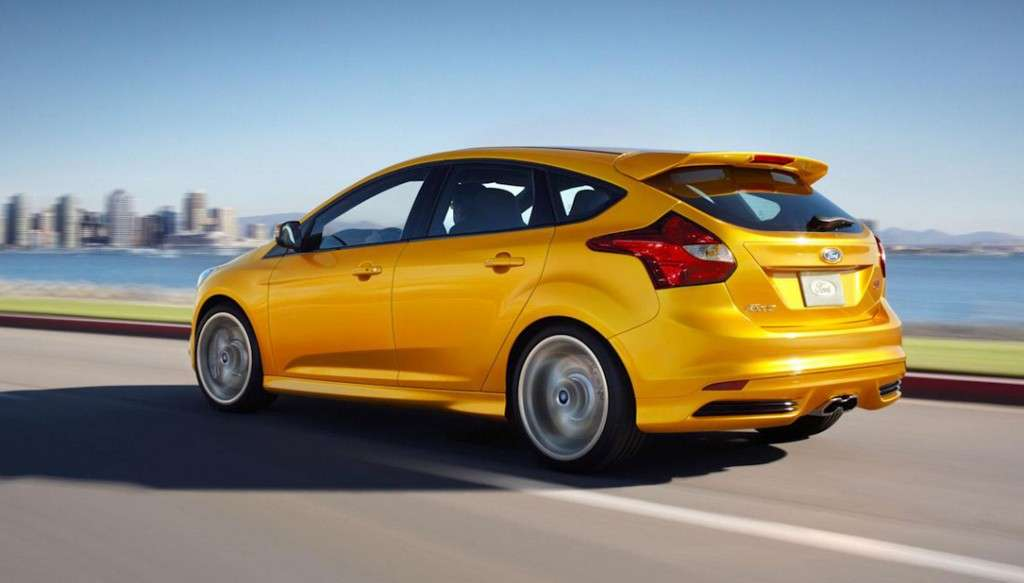 Ford Focus ST - posteriore hatchback (2)