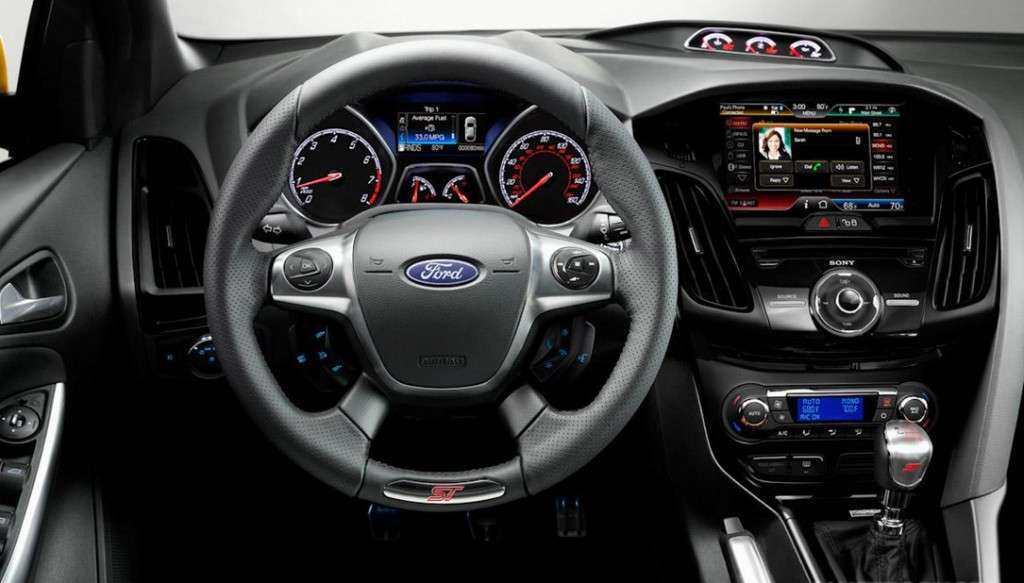 Ford Focus ST - abitacolo (3)